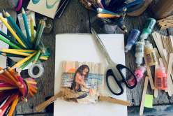Camp Creativebug: Popsicle Stick Frames