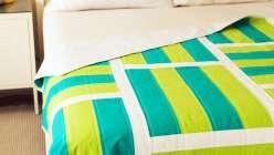 Mod Stripes Quilt Top