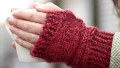 Learn to Knit: Fingerless Gloves