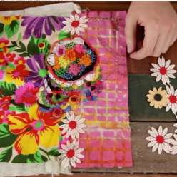 Renown sewing instructor Rebecca Ringquist teaches you how to create a loose, freeform style of embroidery where more is more. Learn how to blend fabric prints as a base, add vintage trims, embroideries and floral stitch patterns.
