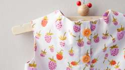This kids crafting class with Heather Ross will teach you to make a blouse for your child. The  garment design mean this kids blouse will work with any fabric.