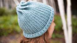 Knit a Twist Top Hat