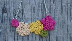 Crochet Flower Jewelry