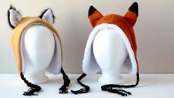 Michele from Simplicity teaches you to stitch a variety of animal hats and hoods, in this children craft projects. This is a perfect beginner sewing project to make these finished hoods for kids.