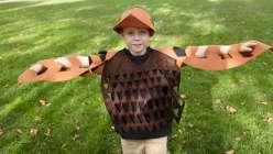 Last-Minute Halloween Costume: Felt Owl