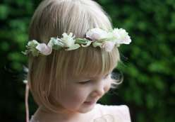 Paper Wedding Crafts: Create a Floral Head Wreath
