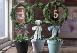 Paper Wedding Crafts: DIY Topiary