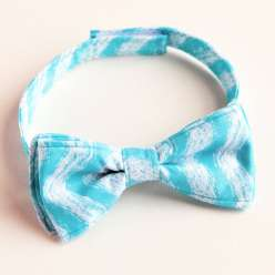 Annabel Wrigley teaches easy-to-sew, customizable bow tie for the special men in your life.  This is an easy sewing project for a special homemade gift or fathers day present.