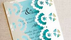 Using simple materials, you can create your very own beautiful, inexpensive wedding or bridal shower invitations using Cricut Explore. Courtney Cerruti demonstrates how to load the lace template into the Design Space,