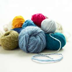 Fancy Tiger Crafts explains all of the basics about yarn. They teach how yarn is twisted and plied, using animal fiber yarn, plant fiber yarn, choosing yarn for knitting projects.