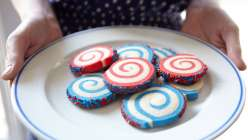 Wilton 4th of july slice and bake cookies