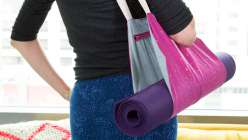 Learn how to sew this handy yoga mat bag with Ashley Nickels. The sewing pattern for this bag is available for download in the class PDF.