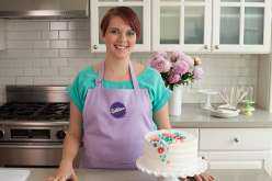 Emily Tatak of Wilton will show you how to make royal icing from scratch and use a variety of decorating tips in the cake decorating class. In this baking class you'll decorate your cake with flowers, with buttercream swirl icing.