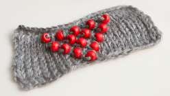 Learn how to add beads to your knitting