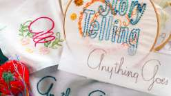 Embroidery Transfer Techniques