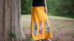 Birds of a Feather Maxi Skirt