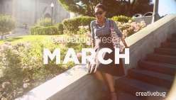 Creativebug Presents March 2016