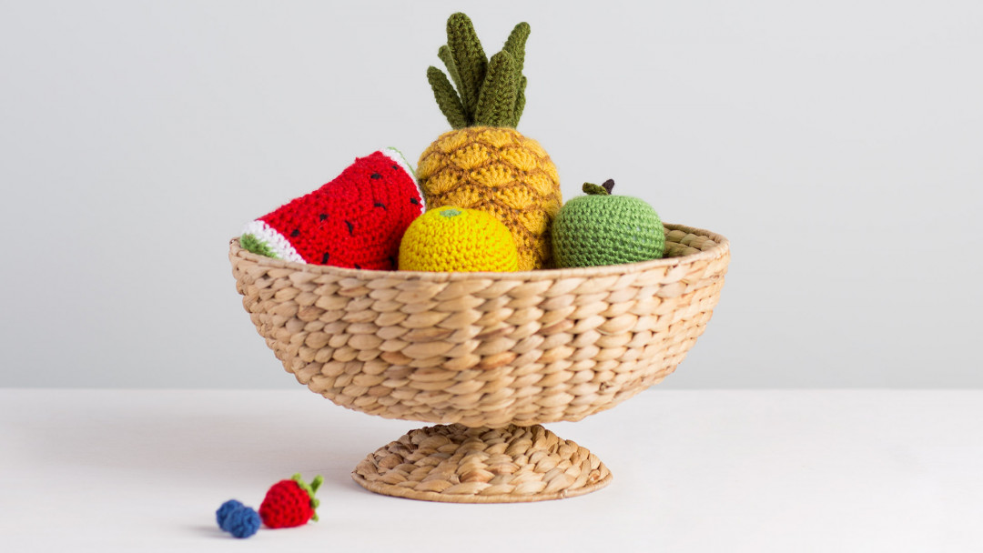 Eat Your Fruits & Veggies Crochet-Along by Twinkie Chan