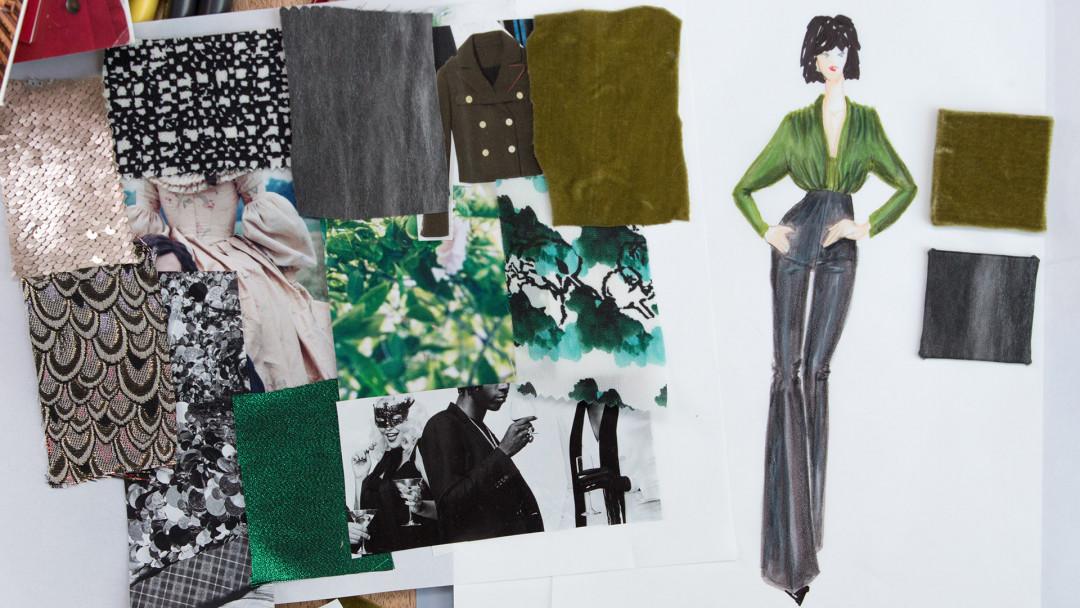 Fashion Illustration With Mood Fabrics By Benjamin Mach Creativebug