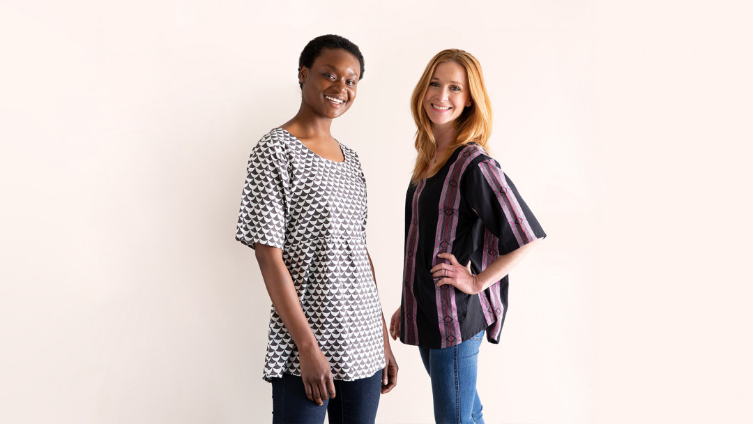 Wardrobe Basics: Sewing Tunic No. 1 by Sonya Philip