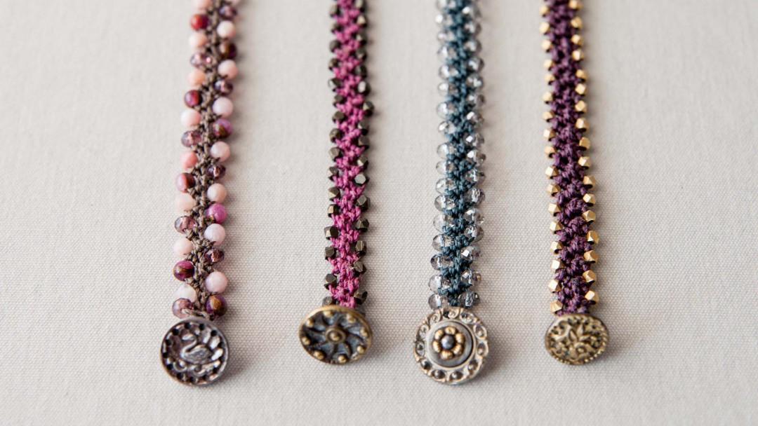Turkish Flat Weave Bracelet by Alix Bluh