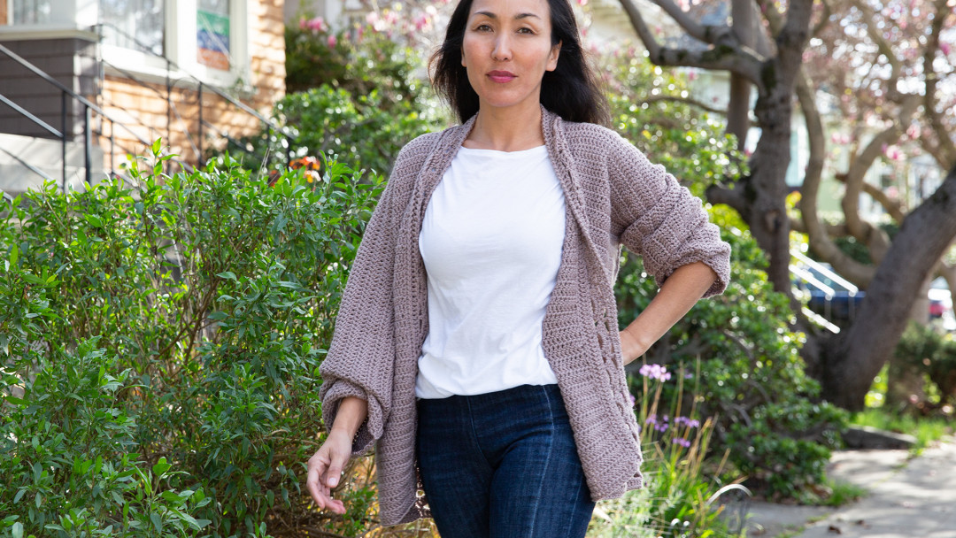 Super Slouch Crocheted Cardigan by Marly Bird