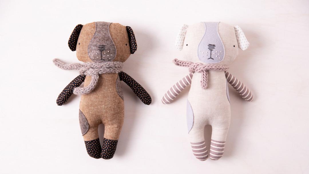 Sew a Luckyjuju Puppy Doll by Katia Ferris