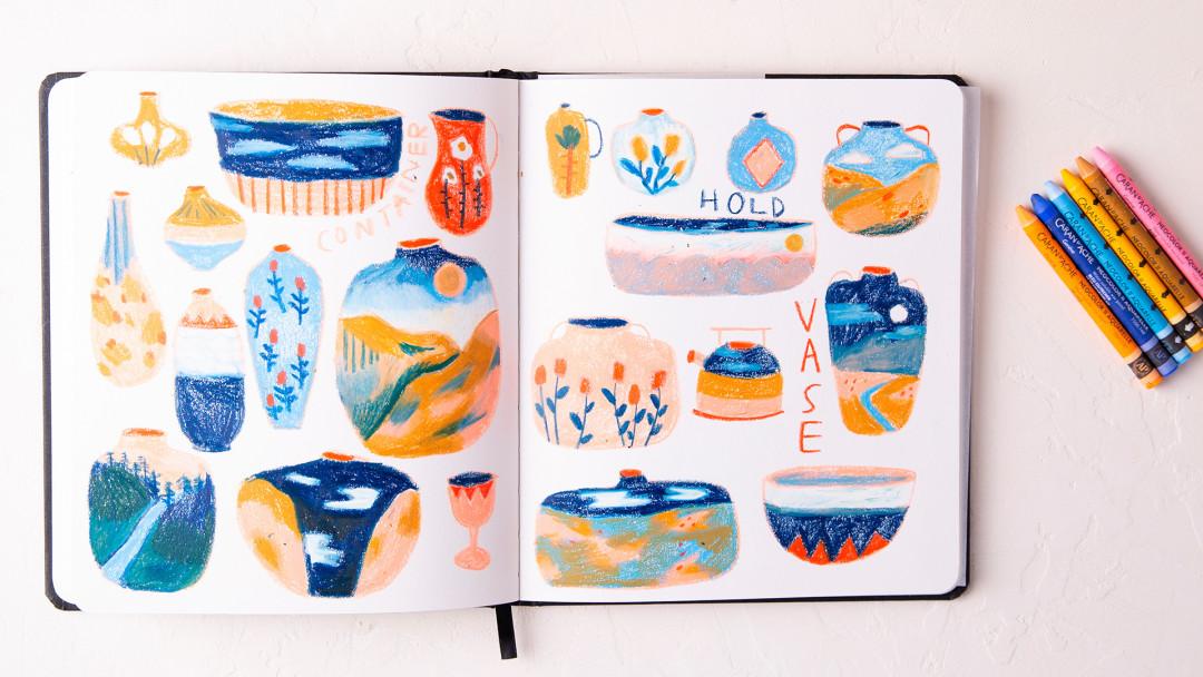 Concept Sketchbook: A Daily Practice by Lindsay Stripling