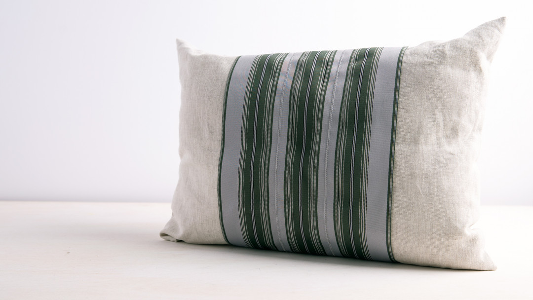 Sew a Lumbar Pillow by Michele Muska