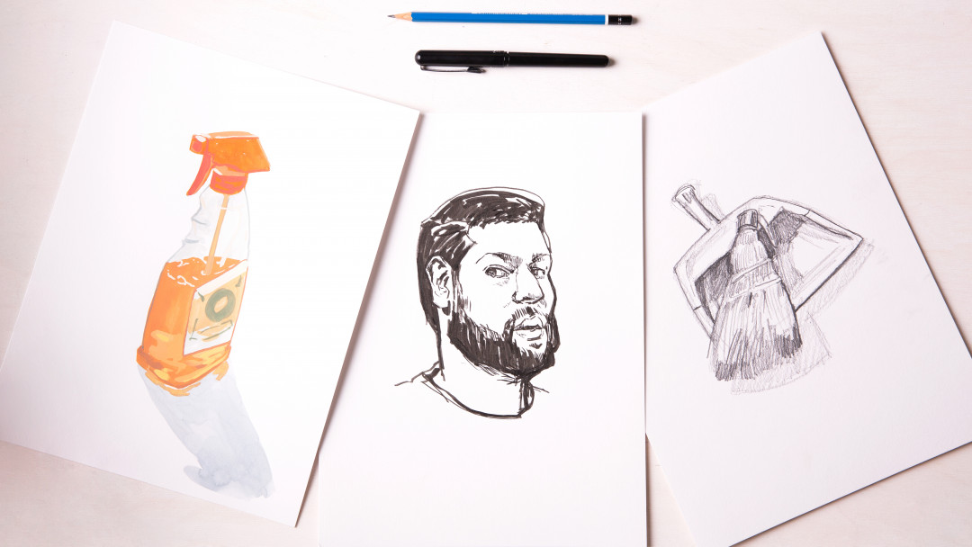 Everyday Sketching: 31 Still Life Prompts by Jon Stich