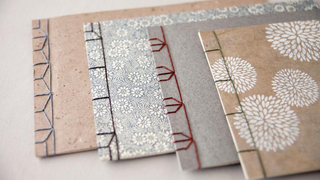 Japanese Side Sewn Sketchbook by Jody Alexander - Creativebug