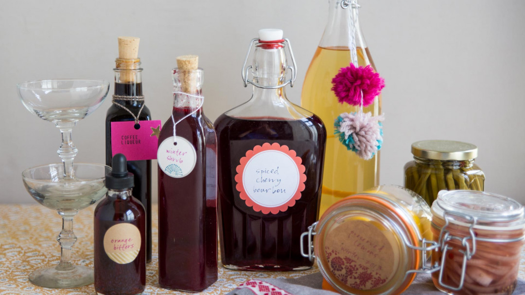 Preserves, Liqueurs and Infusions by Kelly Wilkinson