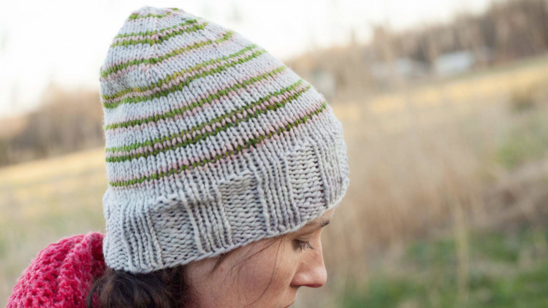 1ad4f5abc How to Knit a Hat in the Round by Jill Draper - Creativebug