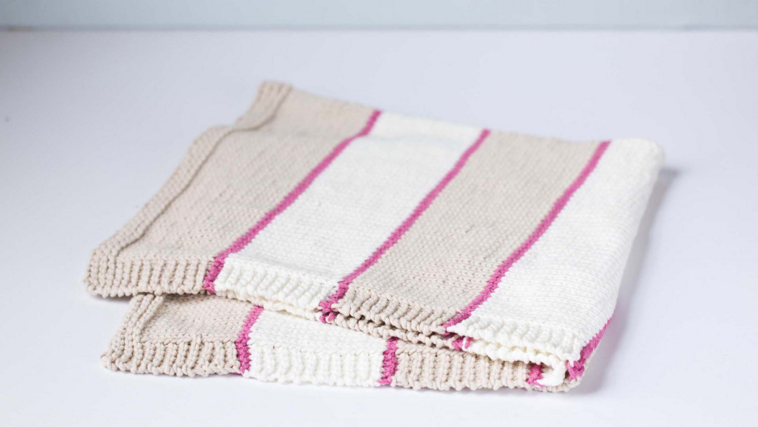 Beginner Knits How To Knit A Baby Blanket By Maggie Pace Creativebug