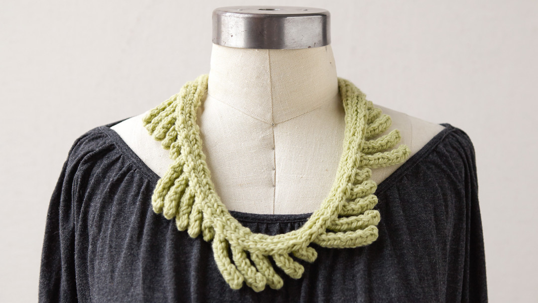 Knit a Necklace by Lynne Barr