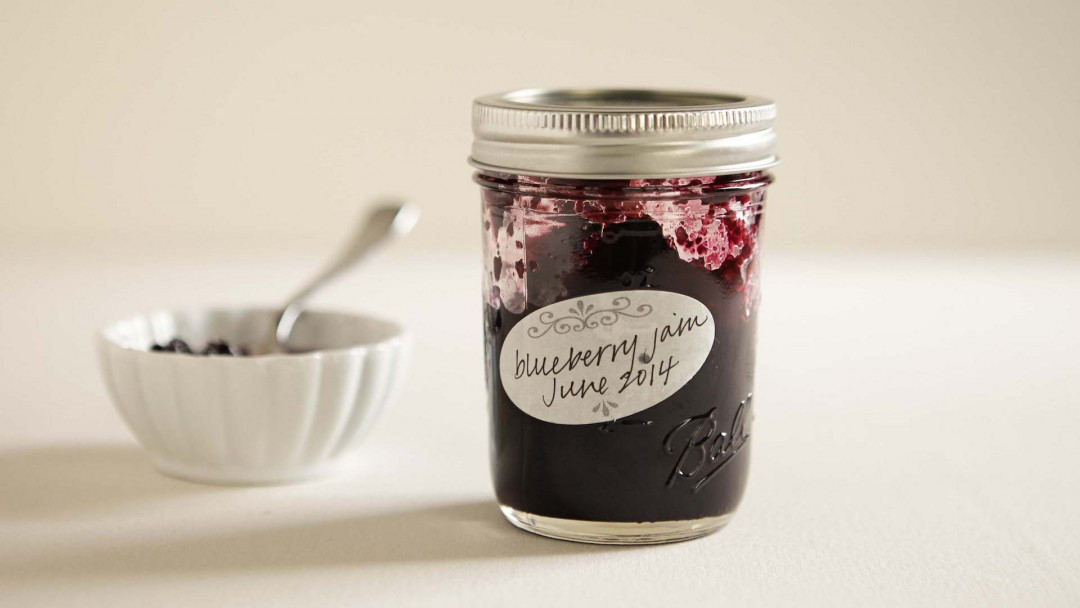 Canning the Best Blueberry Jam by Karen Solomon