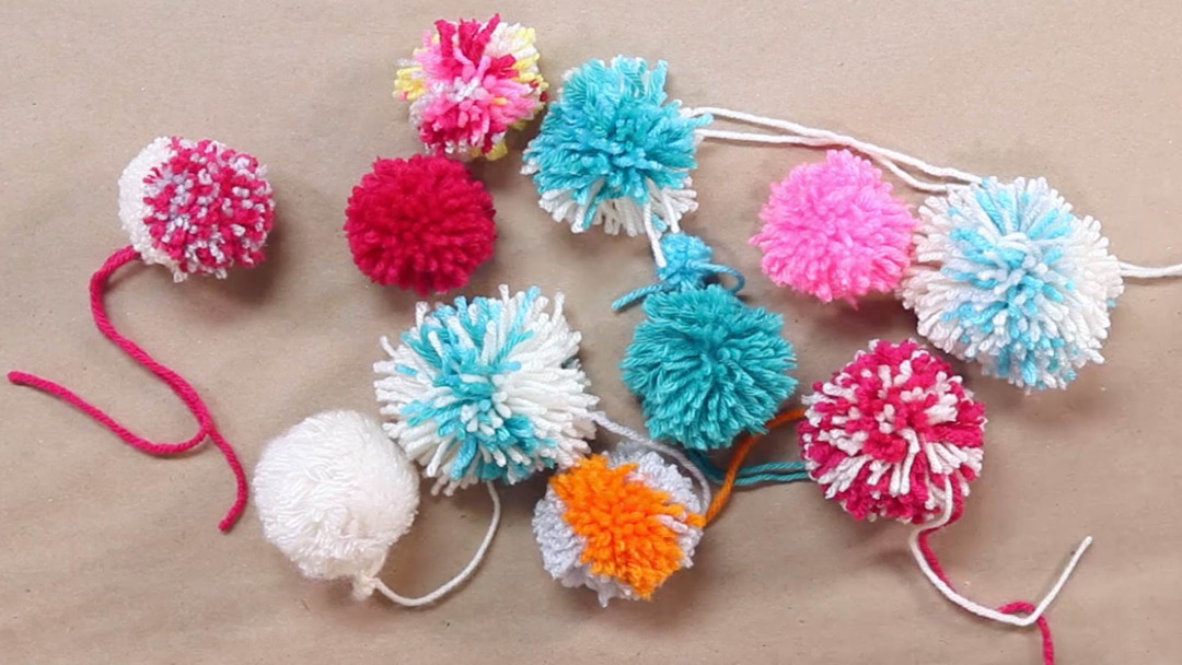 How to Make a Pom Pom by Maggie Pace