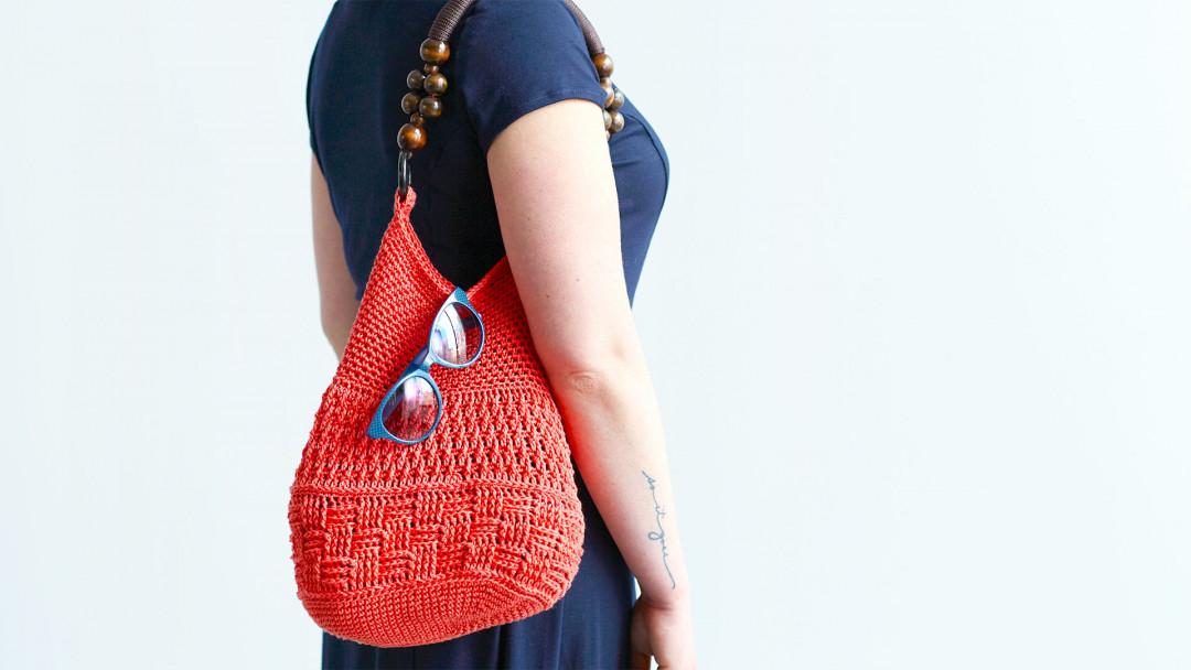 Crocheted Summer Bag by Edie Eckman