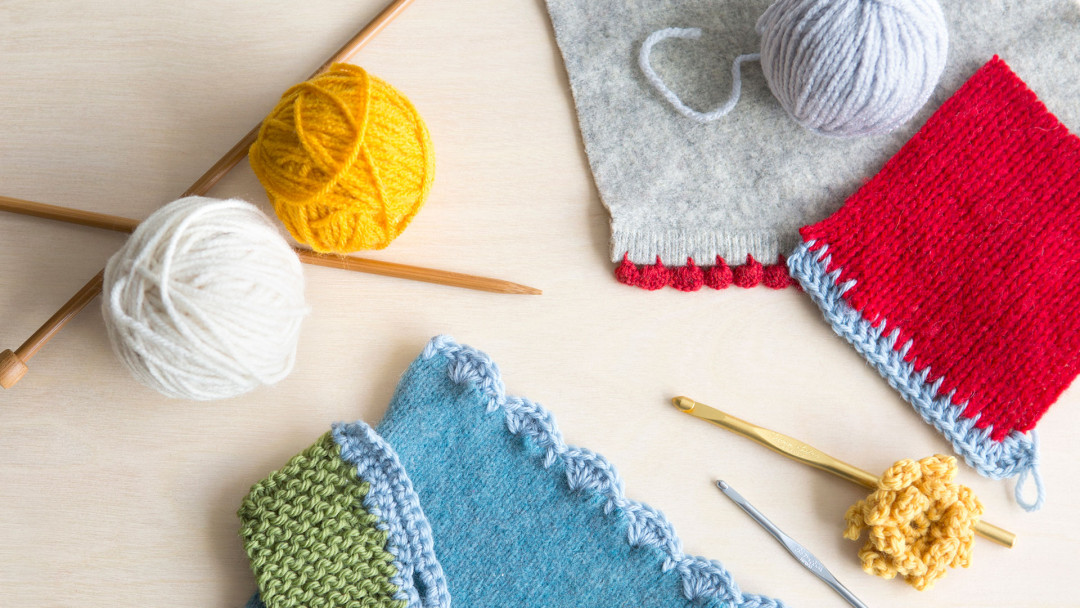 Crochet Techniques for Knitters by Cal Patch