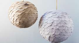 Scalloped Paper Globes