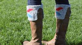 Intarsia Boot Toppers