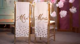 Mr. and Mrs. Chair Banners