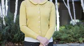 Knit a Lace Cardigan