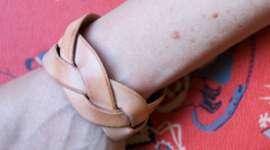 Make a Magic Braid Leather Bracelet