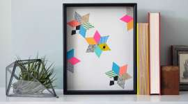 Make a Geometric Paper Collage