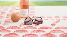 Veggie Stamp Picnic Blanket
