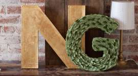 Paper Wedding Crafts: Make 3-D Monogram Letters