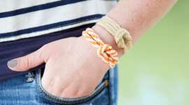 Make a Nautical Rope Bracelet