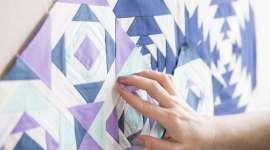 Improvisational Patchwork: Pineapple Quilt Blocks