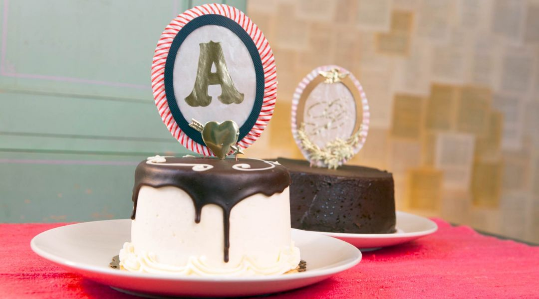 Glassine Cake Topper